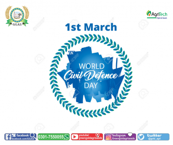 1st March Civil Defence Day